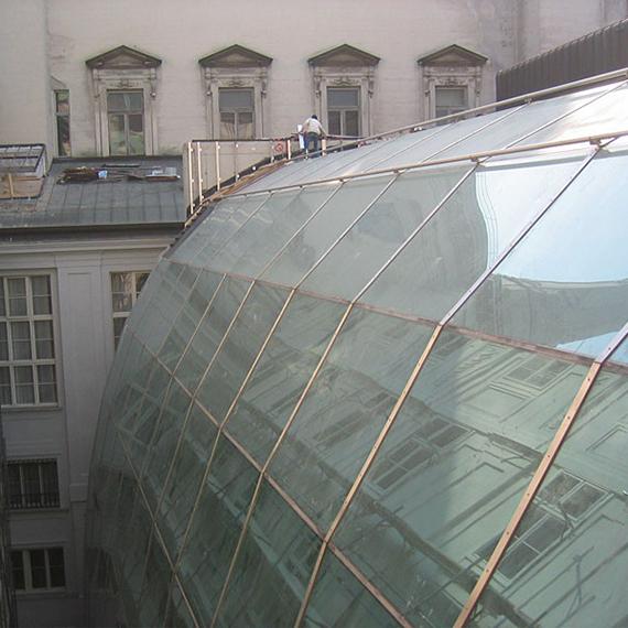 Hofburg – Hofüberdachung